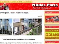 Miklós Pláza Bevásárlóközpont